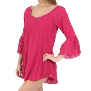 Billabong swing mini dress pink SM